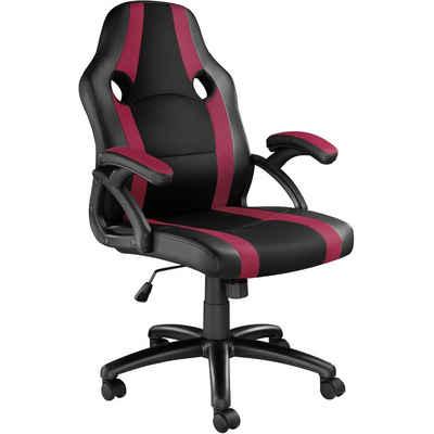 tectake Gaming-Stuhl »Bürostuhl Benny« (1 Stück), einstellbare Wippmechanik