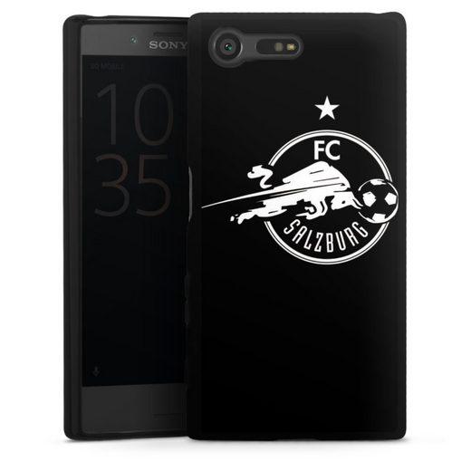DeinDesign Handyhülle »FC Salzburg - Black« Sony Xperia X Compact, Hülle FC Red Bull Salzburg Fußball Fußballspieler