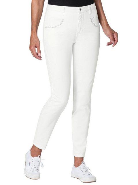 Hosen - Ambria Stretch Jeans › weiß  - Onlineshop OTTO