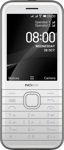 Nokia 8000 4G Sparkler Handy (7 cm/2,8 Zoll, 4 GB Speicherplatz, 2 MP Kamera)