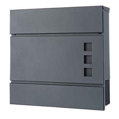 Mucola Briefkasten »Briefkastenanlage Zeitungsfach Zeitungsbox Letterbox Mailbox«, mit Zeitungsrolle