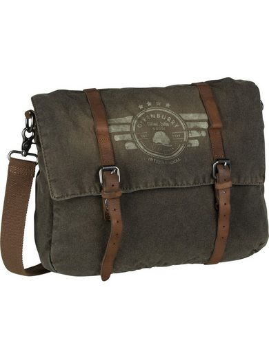 Greenburry Umhängetasche »Vintage Aviator 5901 Messenger«, Messenger Bag