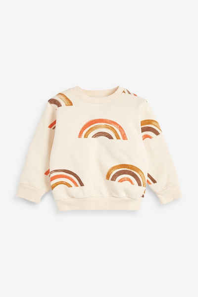 Next Sweatshirt »Regenbogen Rundhalssweatshirt aus Jersey« (1-tlg)