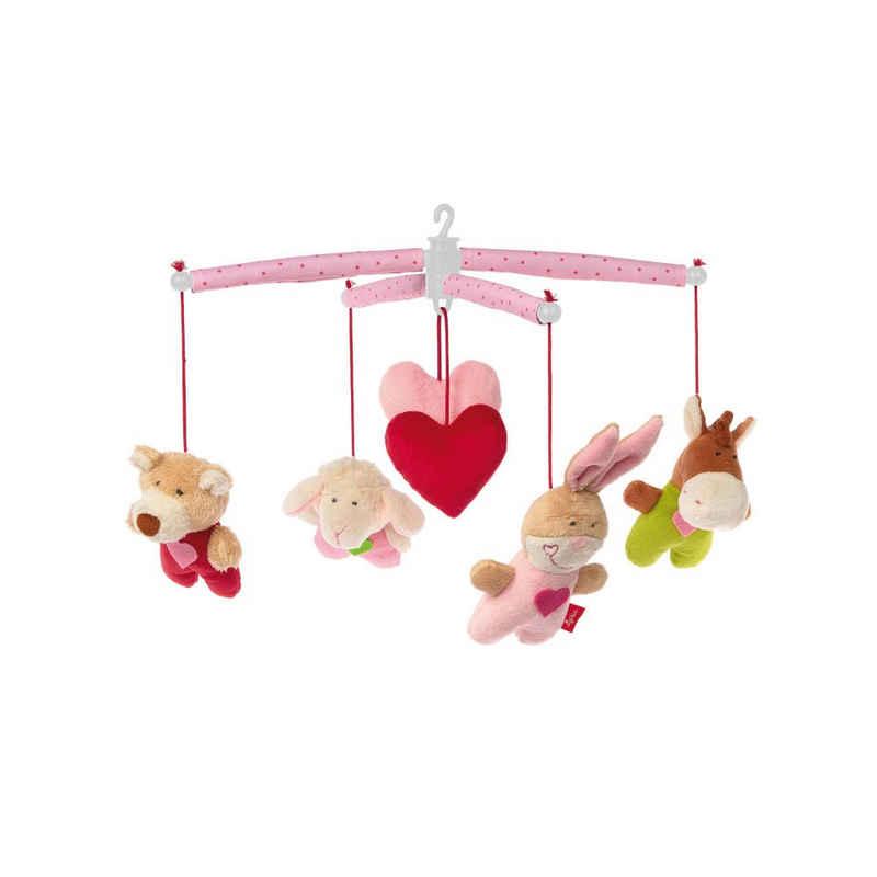 Sigikid Mobile »mit Tieren Rosa«