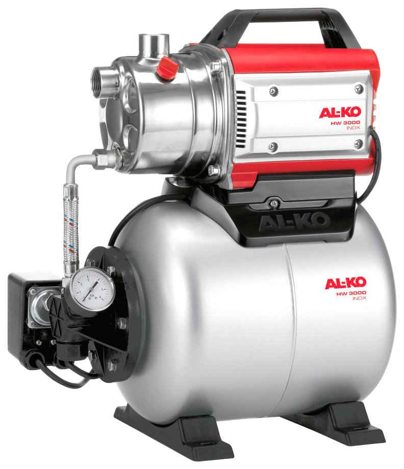 AL-KO Hauswasserwerk »HW 3000 Inox Classic«, 3.100 l/h max. Fördermenge