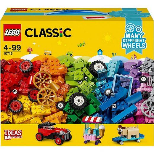 LEGO® Konstruktions-Spielset »LEGO® Classic 10715 Kreativ-Bauset Fahrzeuge«
