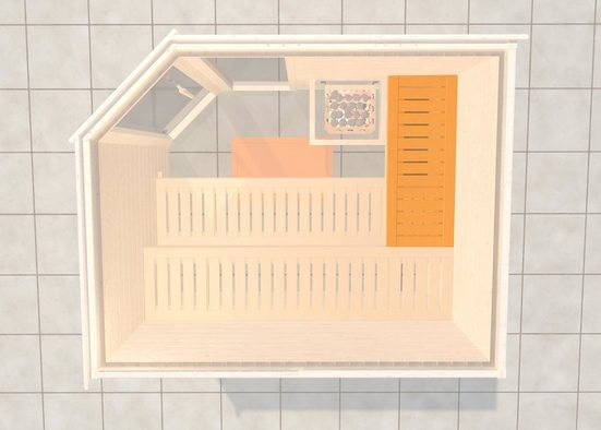 weka Saunabank »Querliege 1«, BxT: 52x75 cm