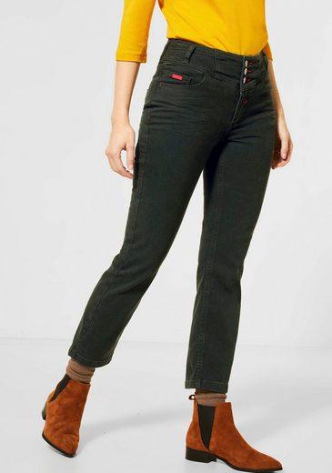 STREET ONE High-waist-Jeans »Tilly« mit breiter Bundpasse