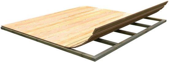 weka Fußboden »(BxT: 200 x 200 cm)«, BxT:200x200 cm, für Gartenhäuser