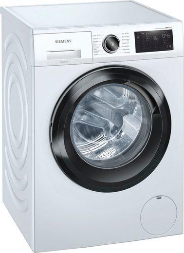 SIEMENS Waschmaschine iQ500 WM14URFCB, 9 kg, 1400 U/min
