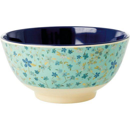 "rice Müslischale »Melamin Schale ""Blue Floral"", Ø 15cm«"