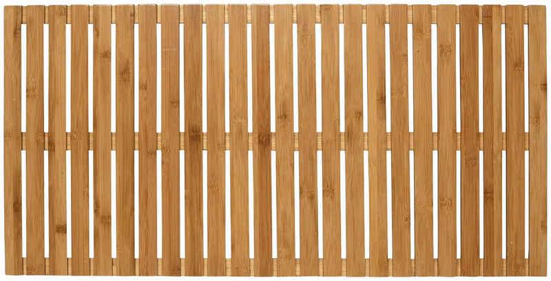 Saunabodenrost WENKO, Höhe 23 mm, Bambus, 50 x 100 cm