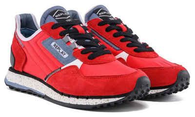 Replay »DRUM ROAD« Sneaker mit Logo-Label