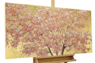 KUNSTLOFT Gemälde »Erster Blumenduft«, handgemaltes Bild auf Leinwand