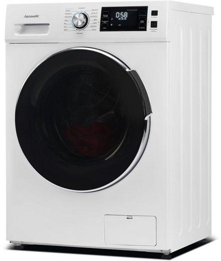 Hanseatic Waschmaschine HWMB714B, 7 kg, 1400 U/min