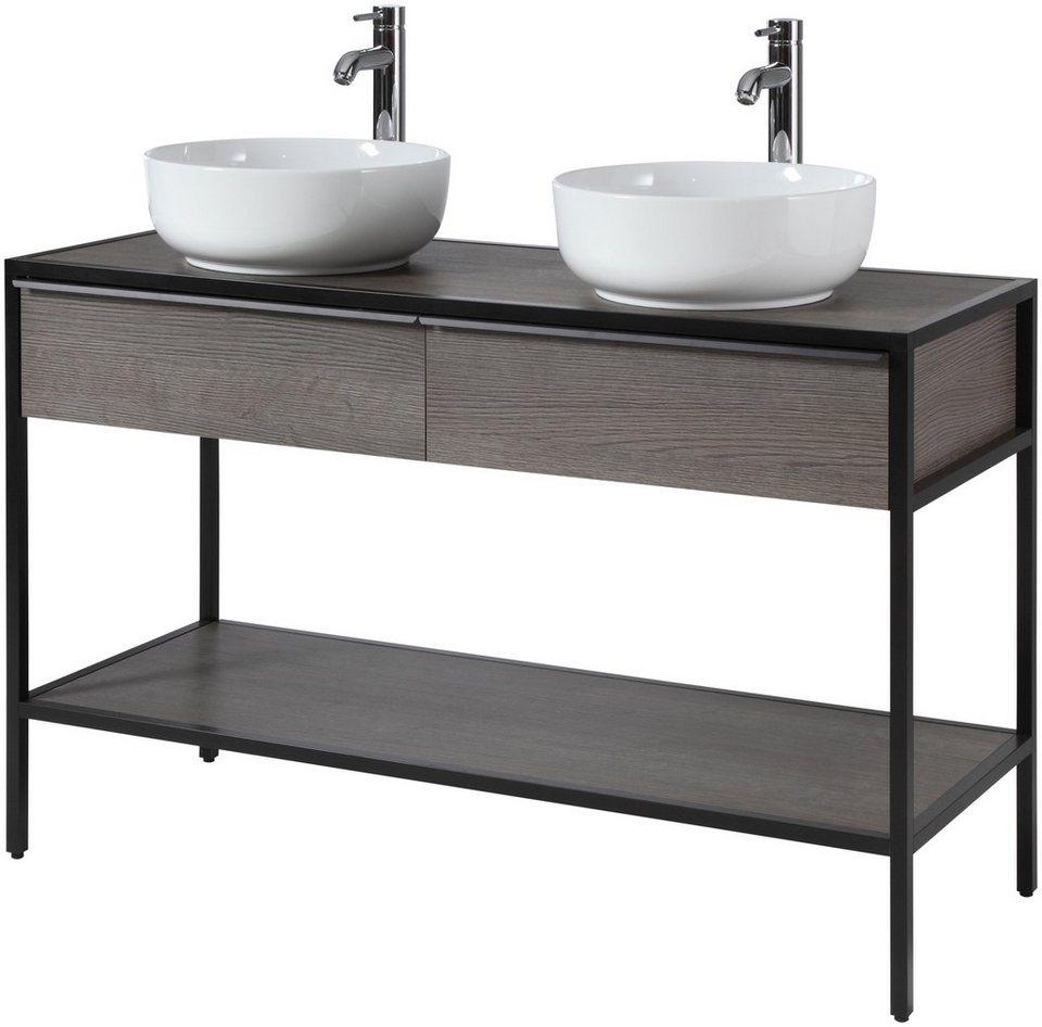 CYGNUS BATH Doppelwaschtisch »Brooklyn«, Breite 20 cm, Metallgestell  online kaufen   OTTO