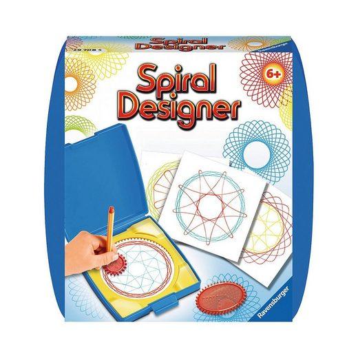 Ravensburger Malvorlage »Spiral-Designer Mini, mit 2 Zahnrädern«