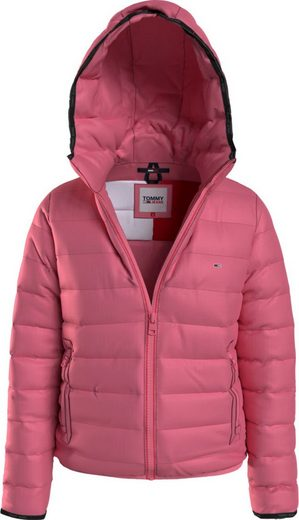 Tommy Jeans Steppjacke »TJW Quilted Tape Hooded Jacket« mit Tommy Jeans Logo-Flag