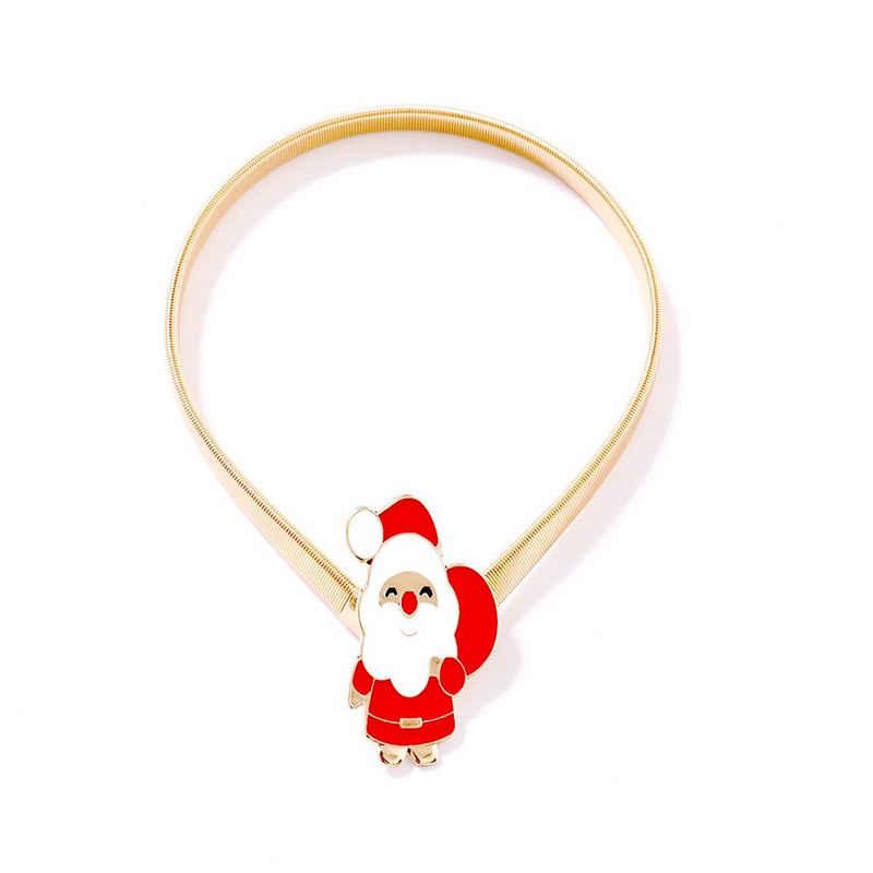 Raffhalter »Metall, elastisch,Weihnachtsmann/Glocke/Kranz, für Wohnzimmer Schlafzimmer Vorhang Heimdekoration Weihnachten«, Rosnek, Gardinen, (1-tlg)
