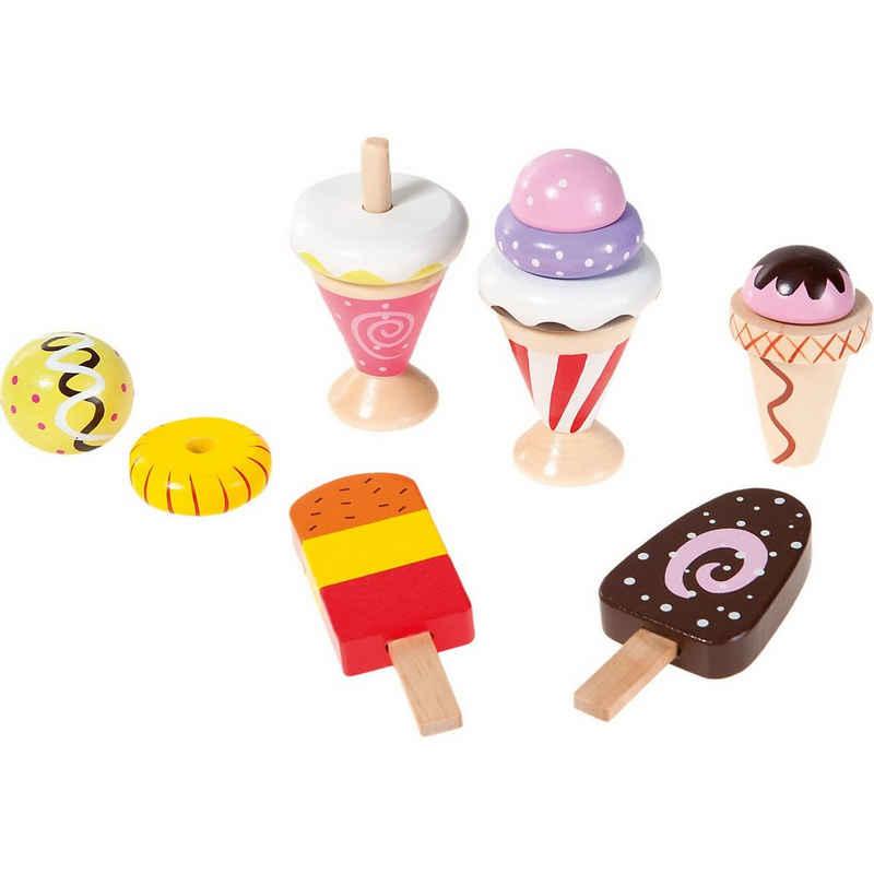 myToys Spiellebensmittel »Kaufladen Eiscremeset, 12-tlg. Spiellebensmittel«