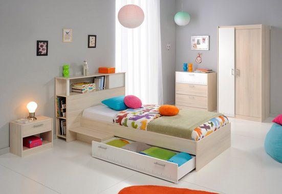 Parisot Jugendzimmer-Set »Charly 16«, (Set, 5-St), mit einem Kleiderschrank