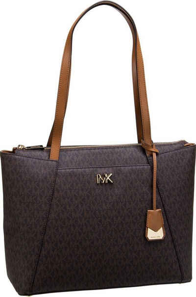 9047b73c62d767 MICHAEL KORS Shopper »Maddie Medium EW TZ Tote MK Signature«