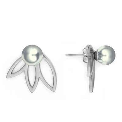 Heideman Paar Ohrhänger »Flora 3 Poliert«, mit Perle