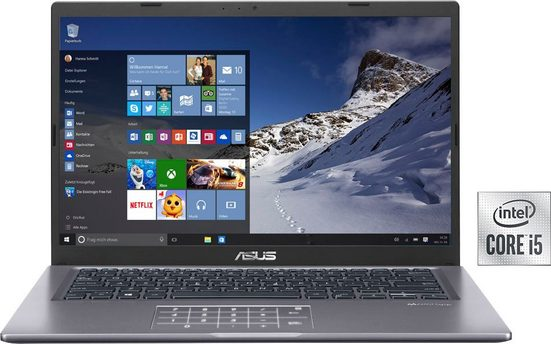 Asus VivoBook F415JP-EB103T Notebook (35,56 cm/14 Zoll, Intel Core i5, GeForce®, 512 GB SSD, nVidia MX330 mit 2 GB, TouchPad mit integriertem NumberPad 2.0)