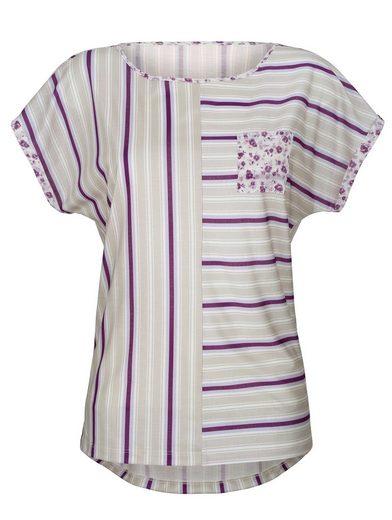 Laura Kent Shirt mit überschnittener Schulter