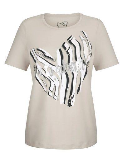 Laura Kent Shirt mit tollem Herzmotiv