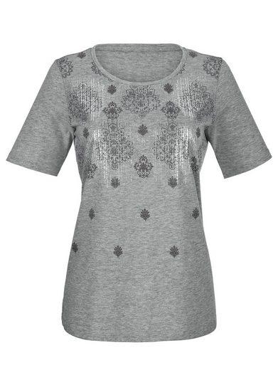 Laura Kent Shirt mit tollem Glanzeffekt