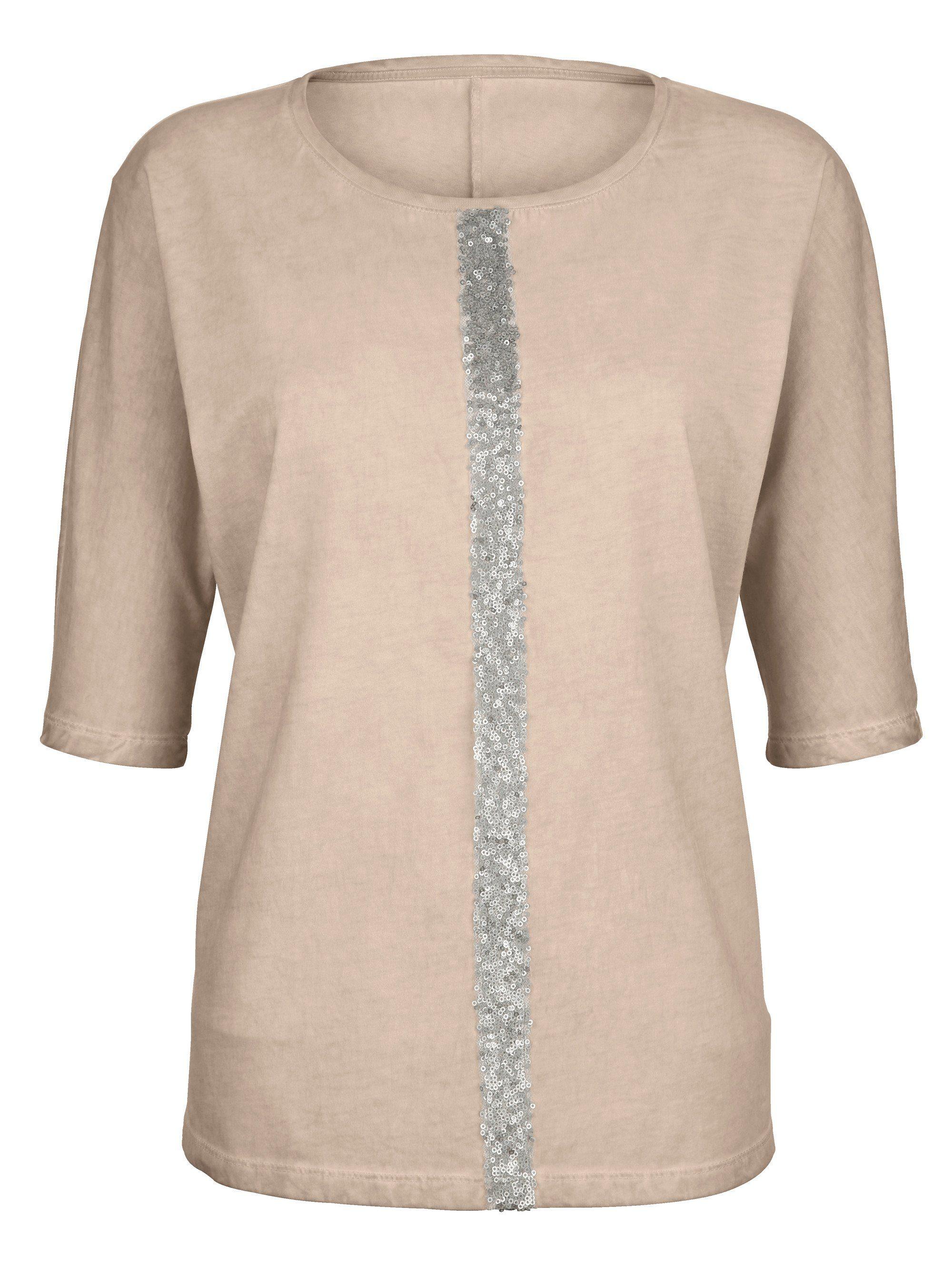 Kleidung & Accessoires Emporio Armani Gr.38 100%seide Jacke Blume Beige Zip Durable In Use