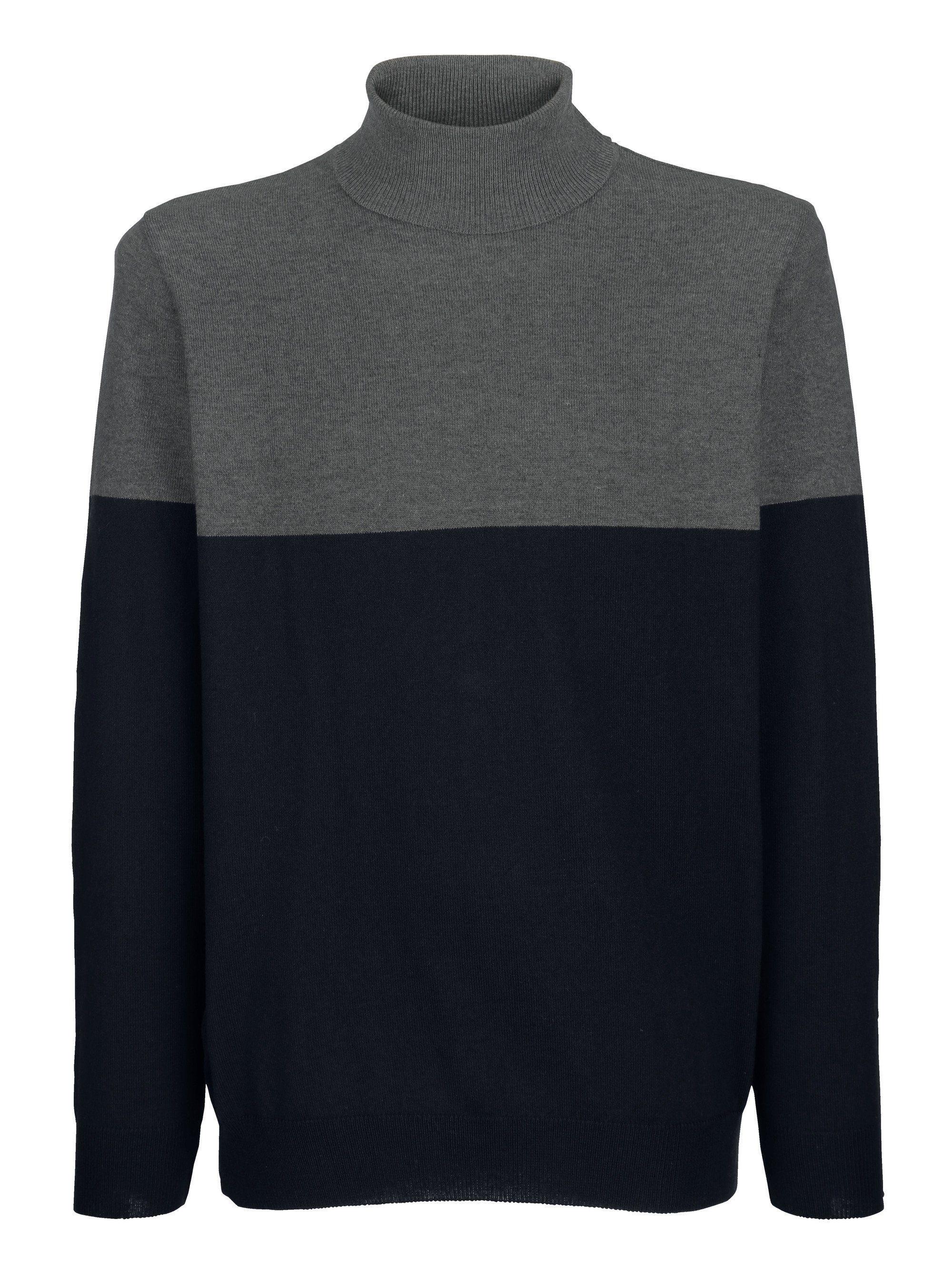 Boston Park Pullover mit Rollkragen, Modische Farbteilung online kaufen | OTTO