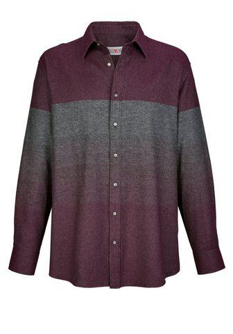 ROGER KENT Flaneliniai marškiniai in Melange-Opti...