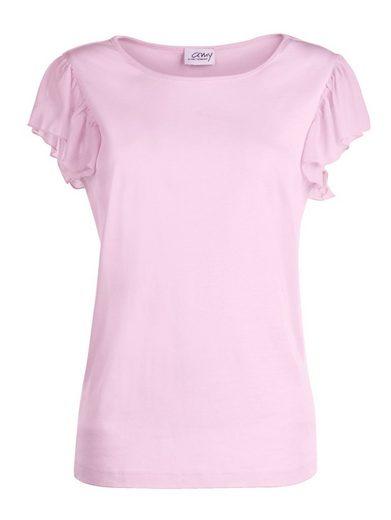 Amy Vermont Shirt mit angesetztem Volant