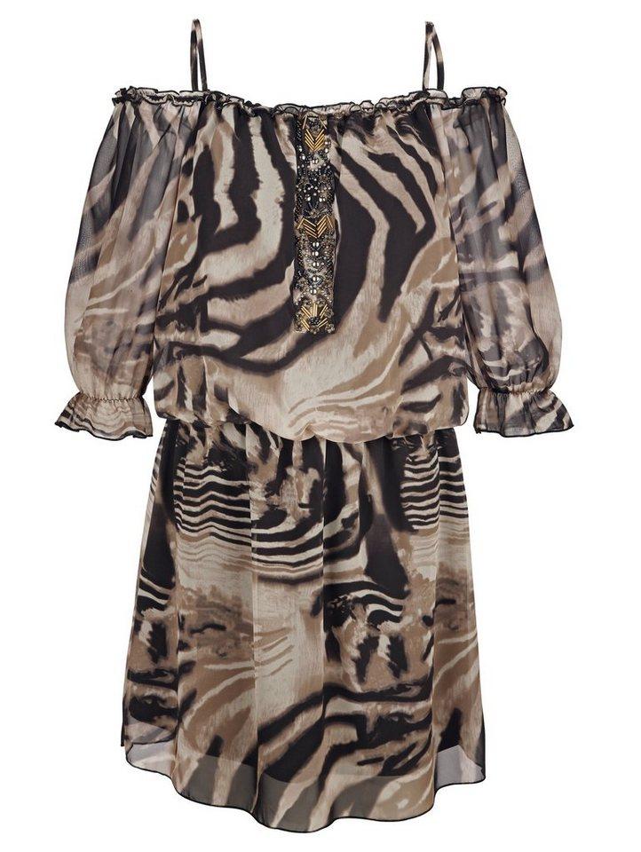 discount discount timeless design Amy Vermont Kleid allover bedruckt, Mit Perlendekoration online kaufen |  OTTO