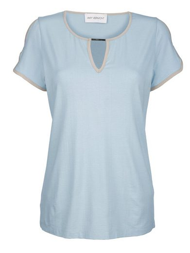 Amy Vermont Shirt mit Cut-Outs