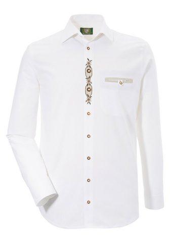 OS-TRACHTEN Tautinio stiliaus marškiniai iš grynos...