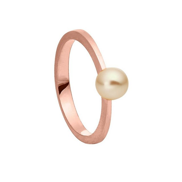 Heideman Perlenring »Regina Rosevergoldet« (1-tlg), Damenring mit Swarovski Perle | Schmuck > Ringe > Perlenringe | Heideman