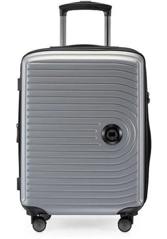 HAUPTSTADTKOFFER Plastikinis lagaminas ant ratukų