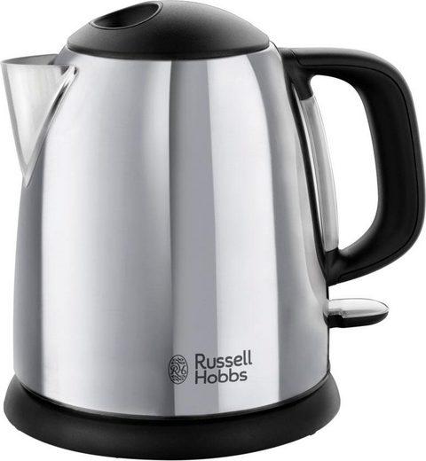 RUSSELL HOBBS Wasserkocher Kompakt-Wasserkocher Victory 24990-70, 1l, 2400W, 1 l, 2200 W