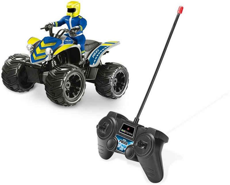 Revell® RC-Quad »Revell® control, RC Quadbike Police, 27 MHz«