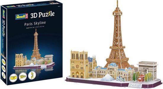 Revell® 3D-Puzzle »Paris Skyline«, 114 Puzzleteile