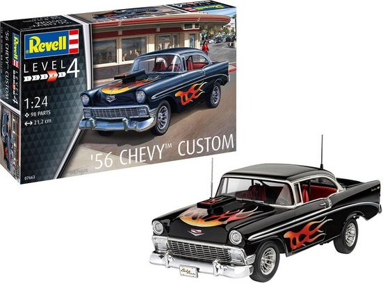 Revell® Modellbausatz »56' Chevy™ Customs«, Maßstab 1:24