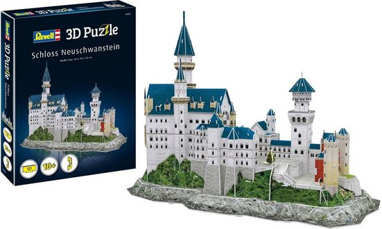 Revell® 3D-Puzzle »Schloss Neuschwanstein«, 121 Puzzleteile