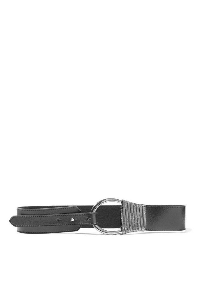 218e1ca404d200 LASCANA Taillengürtel aus Leder mit Zierschnalle | OTTO