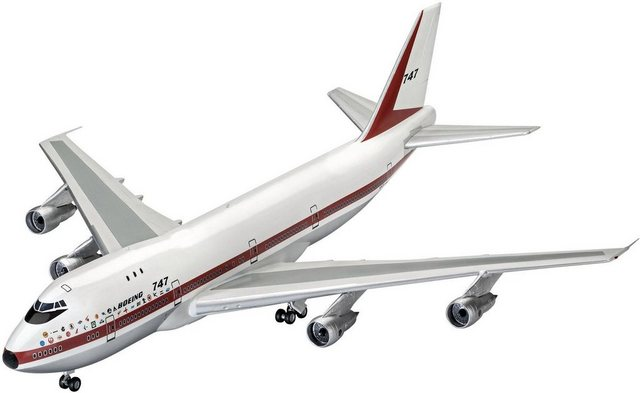 Image of Revell® Modellbausatz »Boeing 747-100«, Maßstab 1:144, Made in Europe