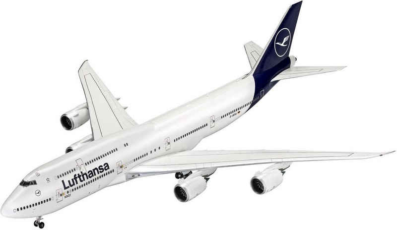 Revell® Modellbausatz »Boeing 747-8, Lufthansa New Livery«, Maßstab 1:144, Made in Europe