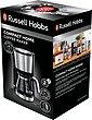 RUSSELL HOBBS Filterkaffeemaschine Compact Home 24210-56, 0,62l Kaffeekanne, Permanentfilter 1x2, Platzsparendes Design für kleine Haushalte oder Küchen, Bild 6