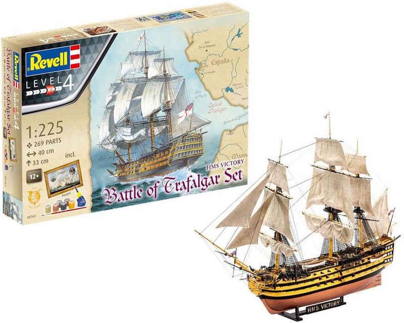Revell® Modellbausatz »HMS Victory, Battle of Trafalgar«, Maßstab 1:225, Made in Europe